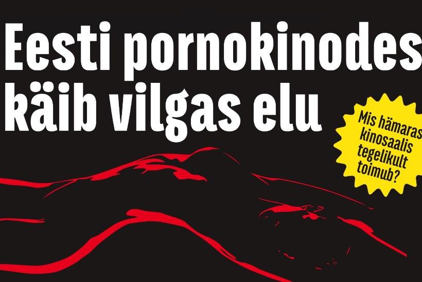 KULTUURNE ENESEPILASTUS JA SEKS LÄBI AUGU: Tallinna pornokinodes käib vilgas elu
