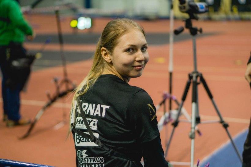 Vibukaunitar Reena Pärnat püstitas Rumeenias kaks Eesti rekordit