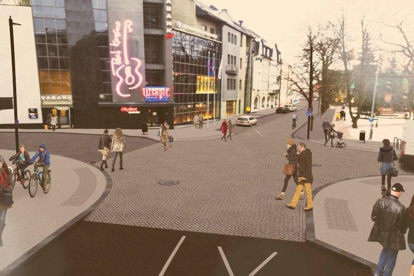 Rohkem ruumi ratturitele: Tartu ehitab Vanemuise tänava uueks