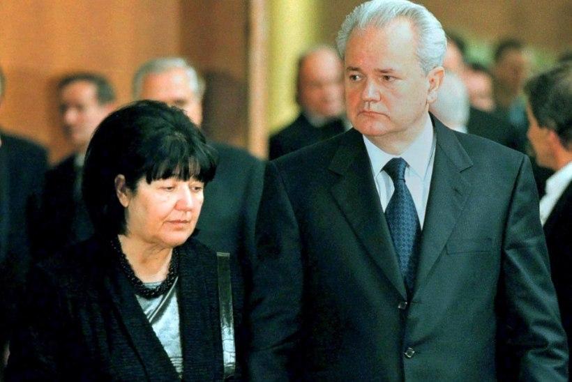 Moskvas suri Serbia endise riigipea Slobodan Milosevici lesk