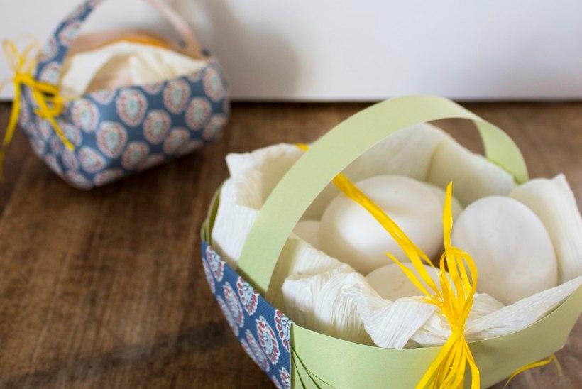 Läki mune korjama! Lustakad paberist munakorvid
