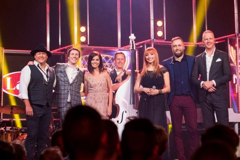 """Vaata ja kuula uuesti: """"Eesti muusika karika"""" lahingus võitis Kadri Voorandit The Swingers"""