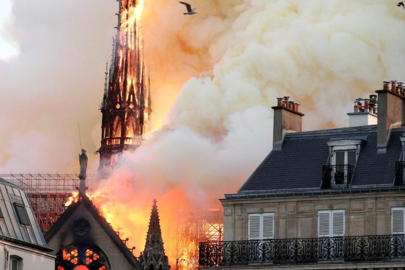 Pariisi eestlanna Jumalaema kirikust: arvasin, et see on aprillinali, aga siis nägin aknast põlengut