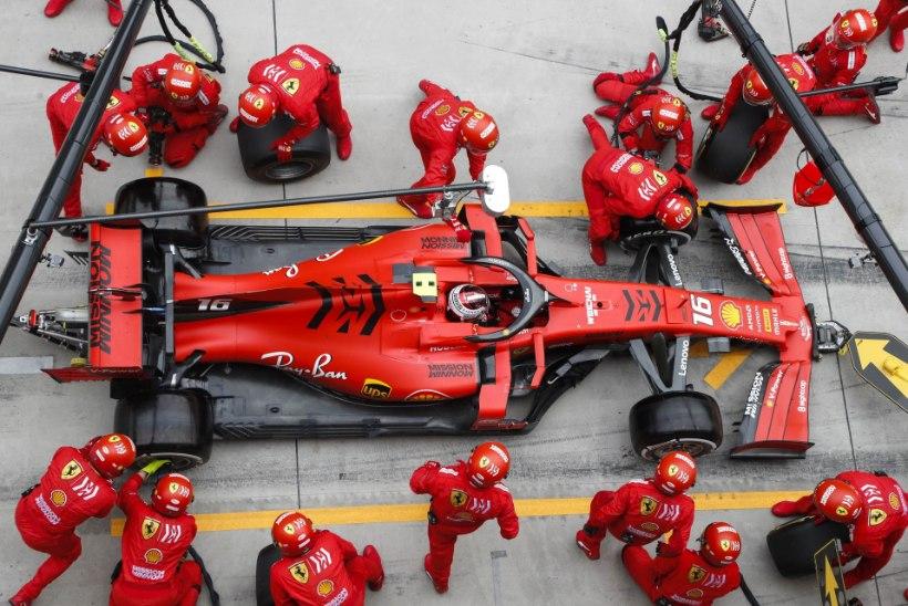 Kas Ferrari saamatus toob kaasa Mercedese järjekordse triumfi?