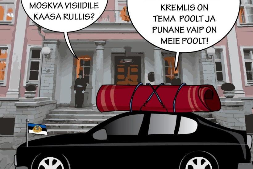 Manona Paris | Kersti Kaljulaidil on esimene ninanips kirjas