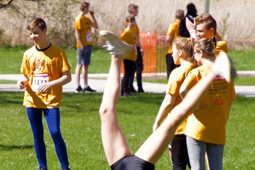 Lapsed trenni! Teatejooks kutsub koole üles liikumispäevale