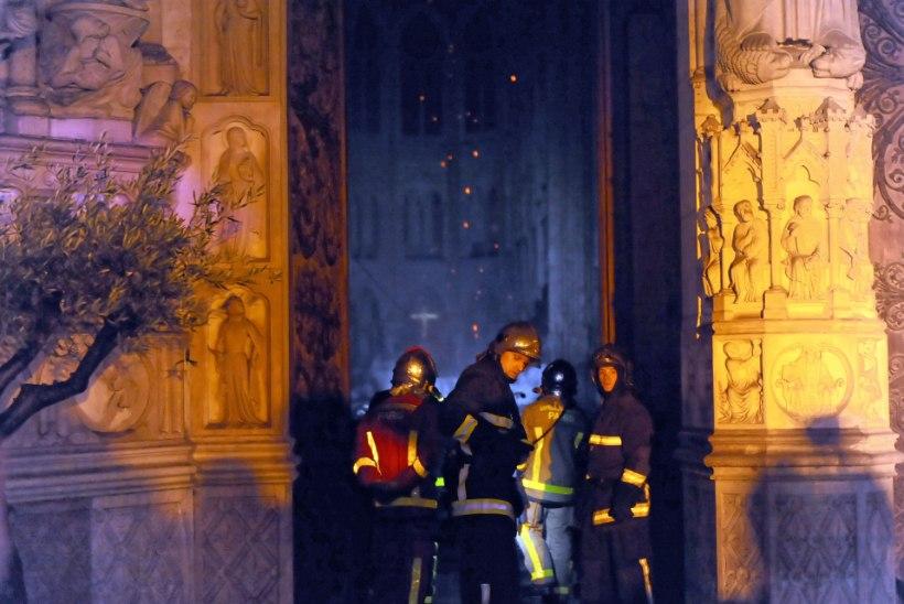 """""""Tuletõrjujana ei kujuta sa ette, et ühel päeval kutsutakse sind Notre-Dame'i päästma..."""""""