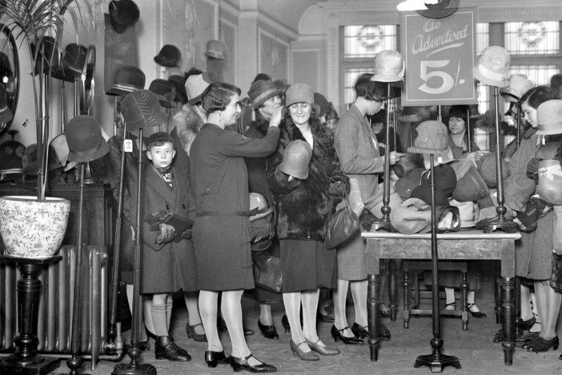 Naistejõuk rüüstas 20. sajandi alguses Londoni luksuspoode