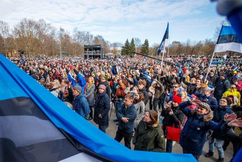 """Движение """"Общая Эстония"""" похоже на зарождающегося коллективного Зеленского"""