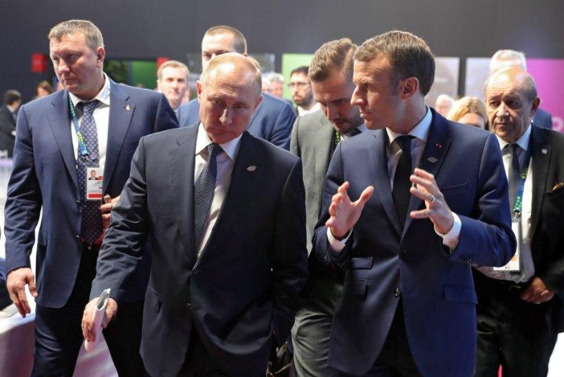 ABIKÄSI: Putin pakkus Macronile Pariisi Jumalaema kiriku taastamisel spetsialiste