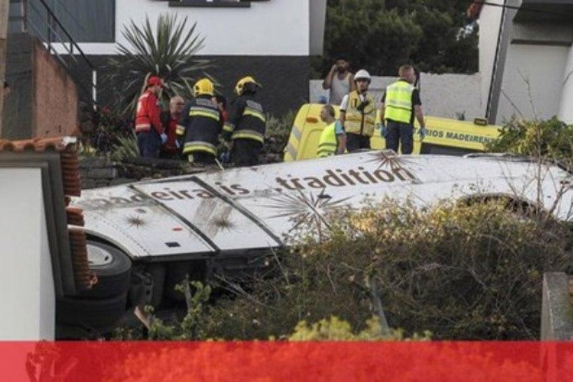 Madeiral hukkus turismibussi õnnetuses 29 inimest