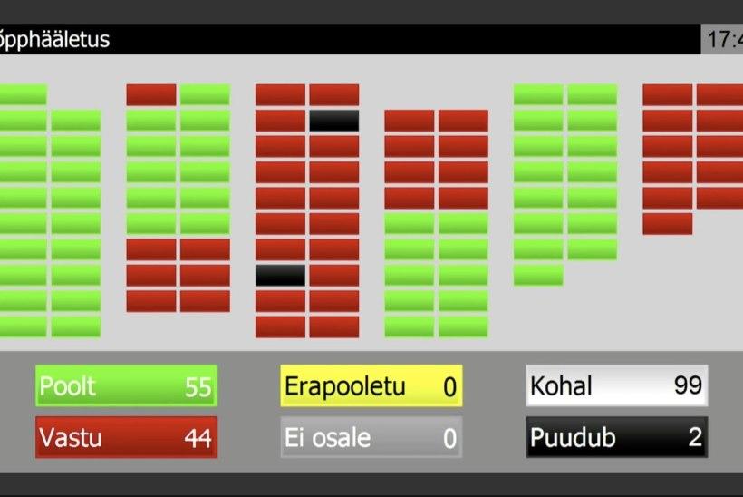 Ainsa Isamaa liikmena uue valitsuse vastu hääletanud Ladõnskaja-Kubits: andsin signaali konkreetsele erakonnale