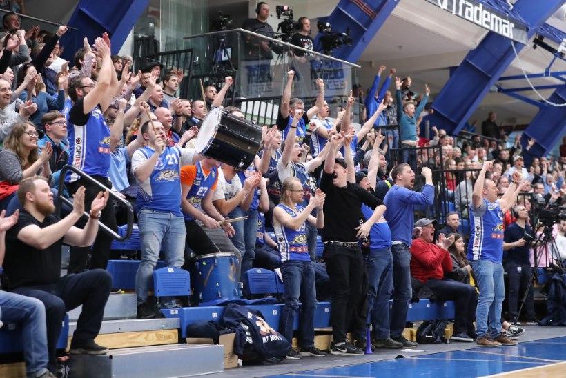 FOTOD   TEHTUD! Kalev/Cramo murdis juubelihooajal viimaks Ühisliiga play-off'i!