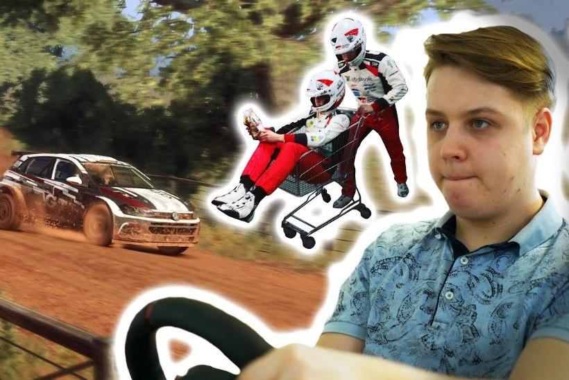 """VIDEO   Kas Tänak suudaks paremini? Kihutame """"Dirt Rally 2.0"""" kruusastel teedel"""