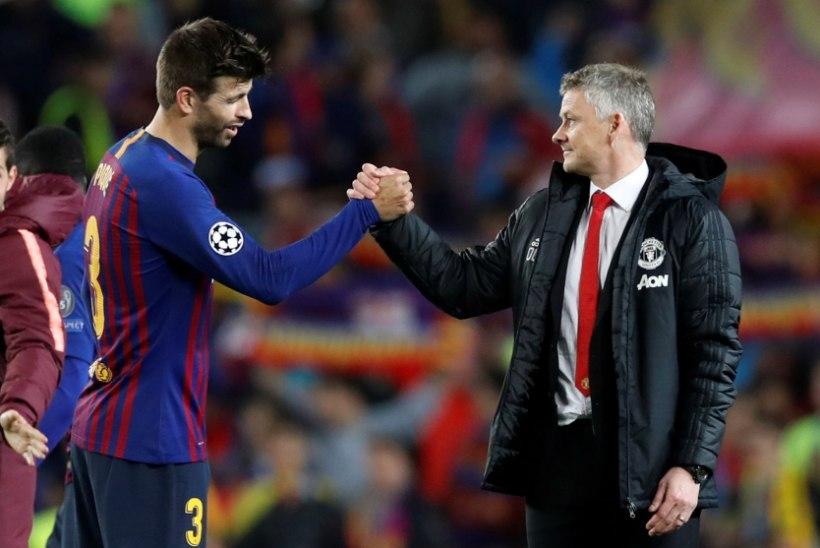 Solskjäri karm hinnang: paari aastaga võime taas Barcelona tasemele jõuda