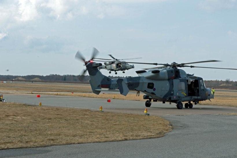 Müraga tallinlaste närve söönud helikopterid lendasid siia Ühendkuningriigist