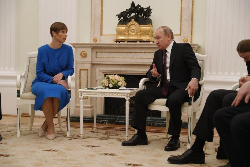 VIDEO | Politoloog ei usu Kaljulaidi ja Putini kohtumisest pööret Eesti-Vene suhetes