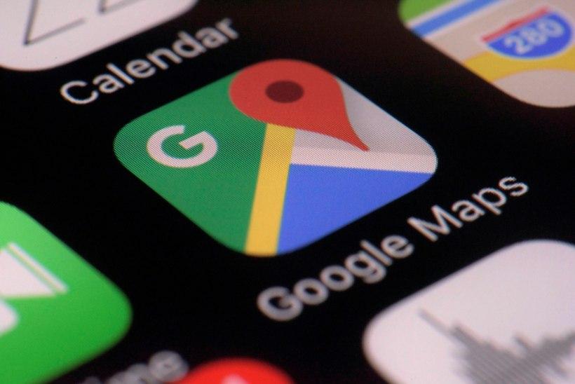 Google'i kaardirakenduse uus funktsioon muudab liiklemist sujuvamaks