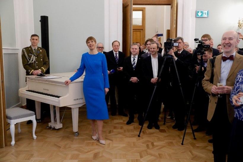 Vene meedia: Kaljulaidi visiit tuli üllatusena, Baltimaadest ollakse harjunud vaid halbade uudistega