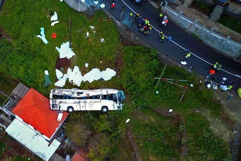 Страшная авария на Мадейре: в Португалии 29 человек погибли в ДТП с туристическим автобусом (ВИДЕО)