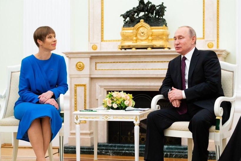 Deivil Tserp | Kaljulaid ja Putin Kremlis – pikamaajooksja ja judoka kohtumine