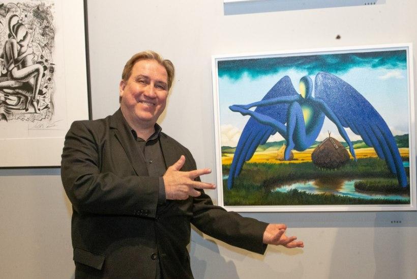 GALERII | Kalev Mark Kostabi avas Tallinnas oma galerii