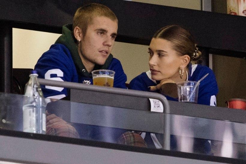 Justin Bieber teatas, et tema naine Hailey ootab last