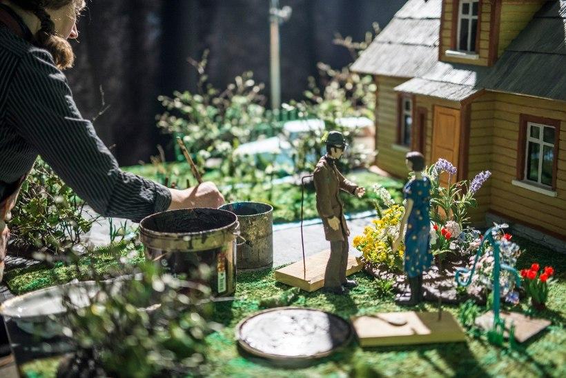 """PARIM ANIMAFILM 2019    Maailmas ainulaadne plastiliinist lühifilm """"Teofrastus""""  koosneb kokku 21 600 fotost"""
