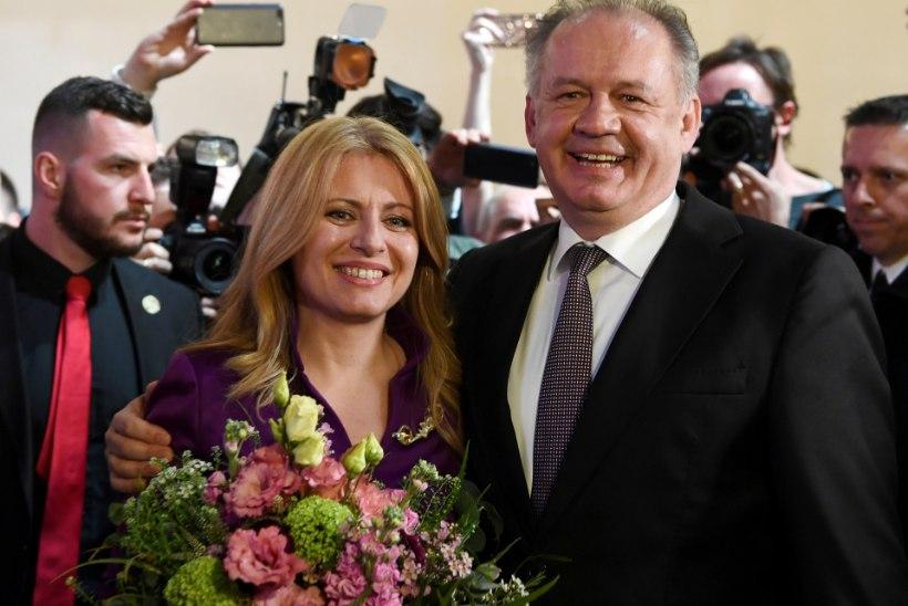 OOTAMATU TÄHELEND: Slovakkia presidendiks saab liberaal Zuzana Čaputová
