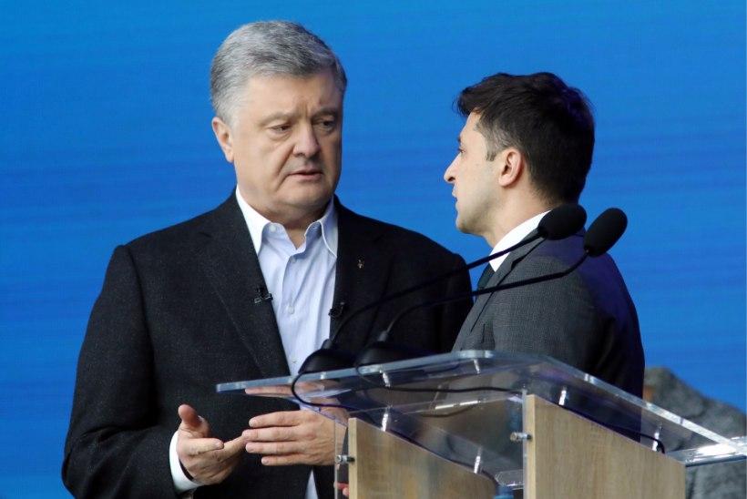 ФОТО: в Киеве прошли дебаты кандидатов в президенты Украины