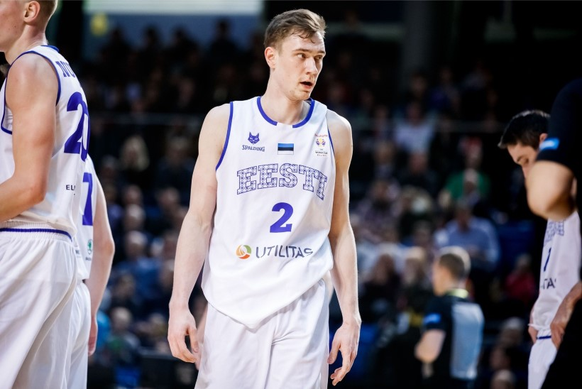 TOHOH! Veel üks Eesti korvpallur osaleb NBA draft'is
