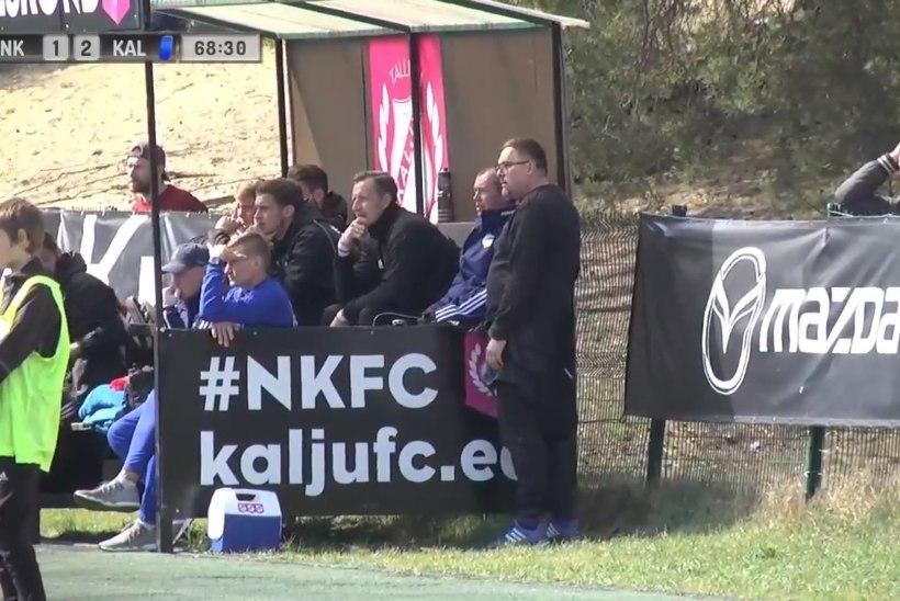 Kalju pääses viimasel sekundil šokk-kaotusest, Tehva käis mängu ajal treeneritega vestlemas