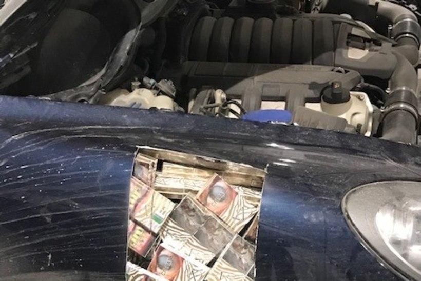 Salasigaretilaadung Venemaalt: toll pidi auto lahti lõikama