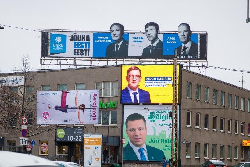 Juhtkiri | Kampaaniakulutusi tuleb hakata piirama