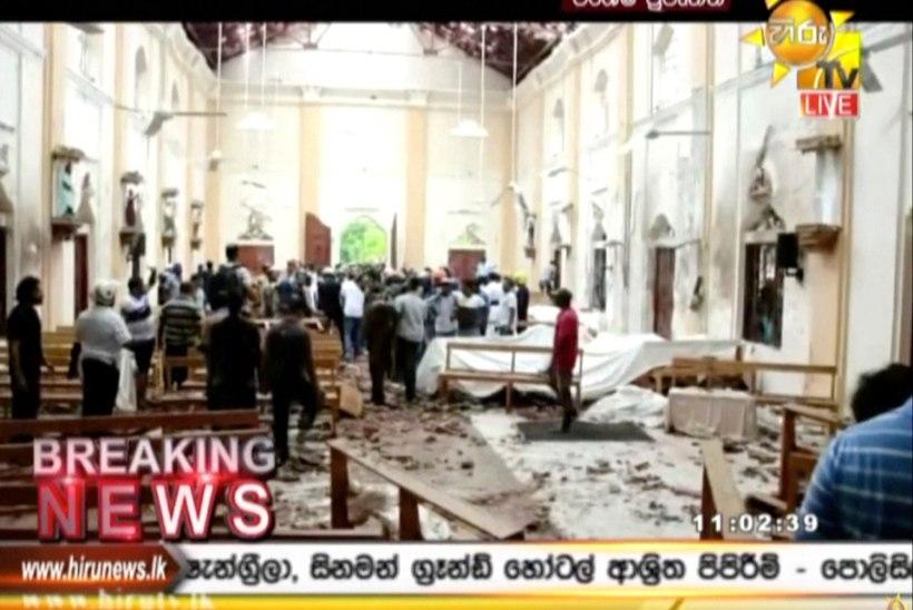 Välisministeerium: Eesti kodanikud Sri Lankal toimunud plahvatustes viga ei saanud
