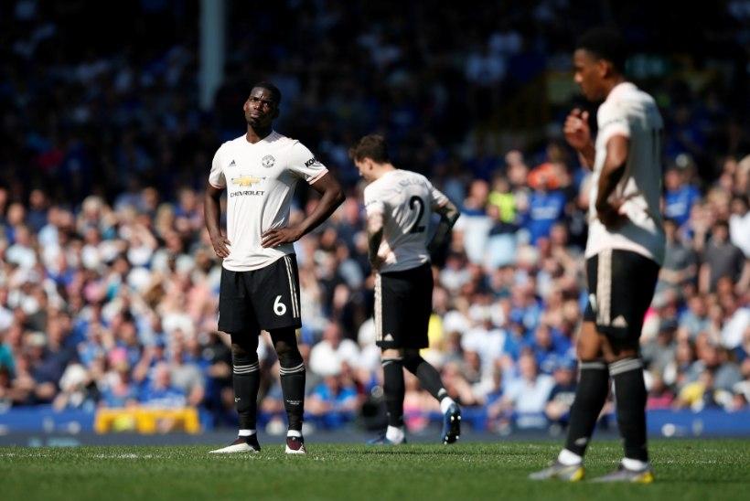 Manchester United sai koduliigas hirmsa nähvaka, Liverpool jätkab tiitlijahti