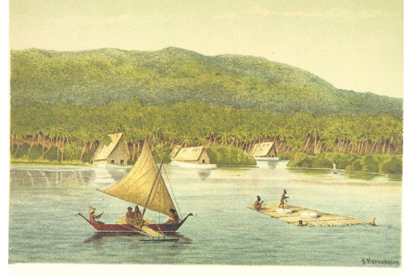 VEIDER VALUUTA: Yapi saarel oli käibel maailma suurim raha