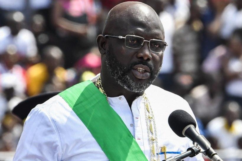 SOOVIMATUD KÜLALISED: maod kiusavad Libeeria presidenti