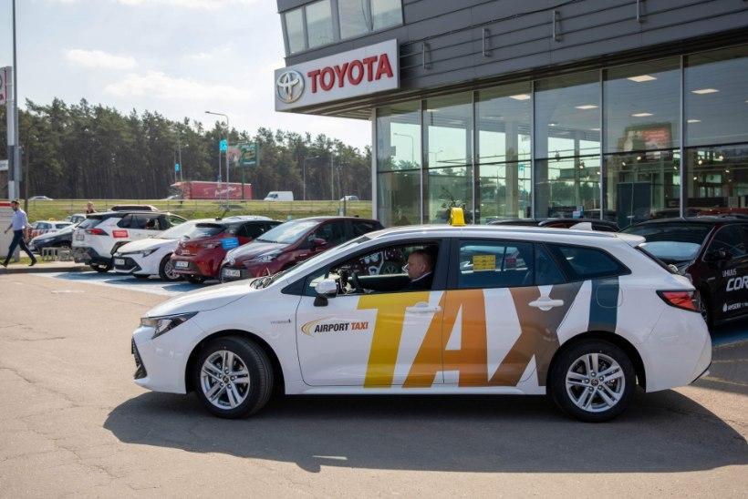 Eesti suurim taksofirma alustab üleminekut alternatiivkütustele ja hübriidautodele