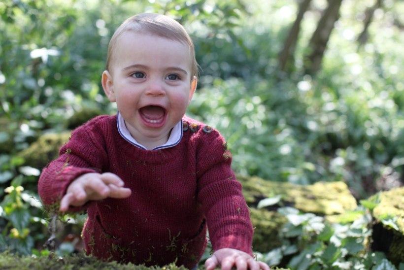 Prints Louis sai aastaseks! Milline naeratus ja armsad piimahambad!