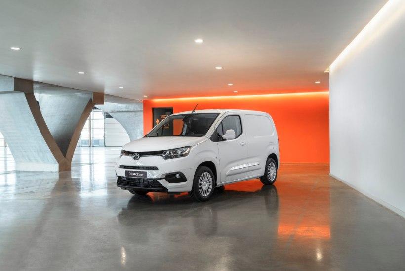 Proace City – Toyota uus mitmeotstarbeline mahtuniversaal