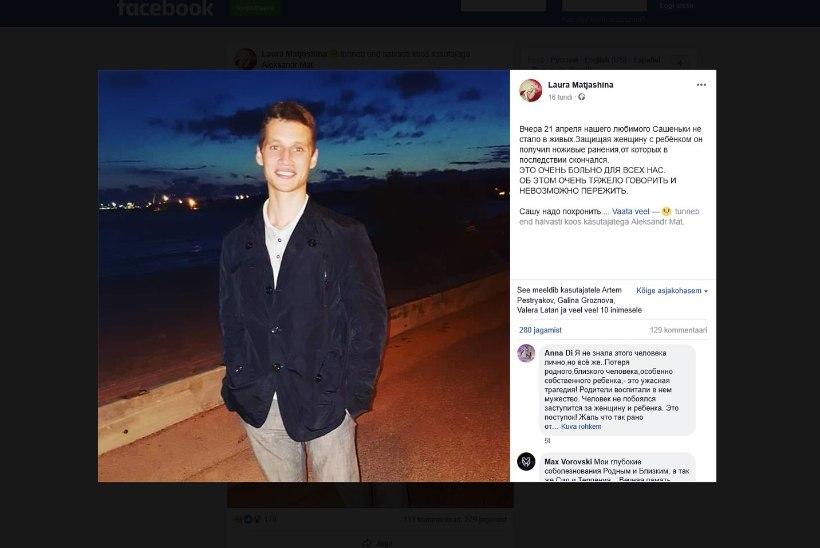 Lasnamäel tapeti nädalavahetusel 28aastane mees