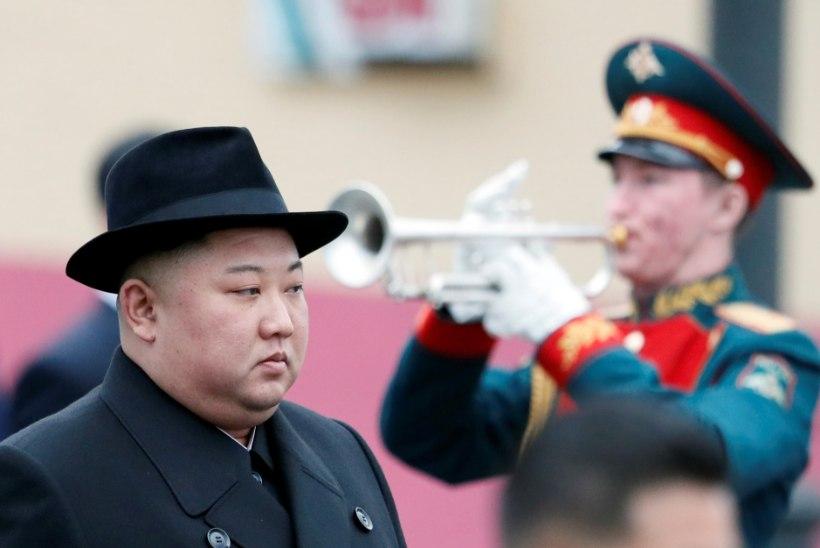 Soomusrongis reisiv Põhja-Korea liider Kim Jong-un jõudis Vladivostokki