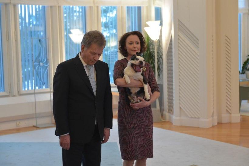 Soome esileedi ülistab sotsiaalmeedias oma karvast sõpra Lennut