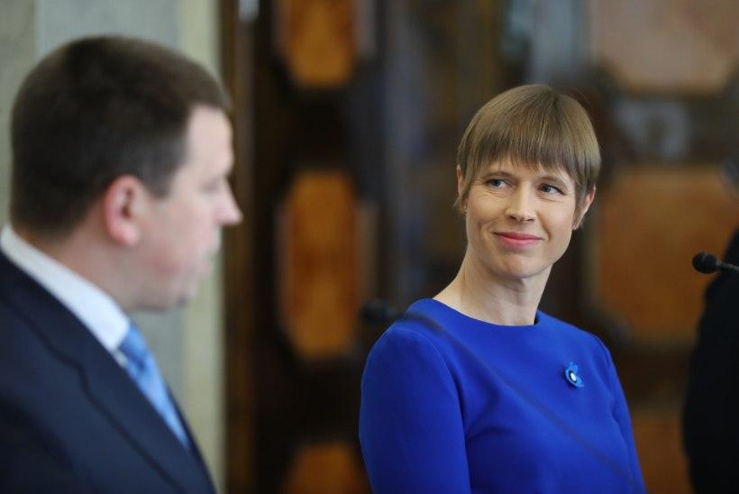 VIDEO | Kaljulaid kinnitas ametisse Ratase uue valitsuse ja soovitas neil võtta sada vihavaba päeva
