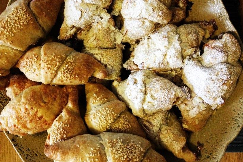 BLOGI | Mandli-croissant'id pidupäeva hommikuks