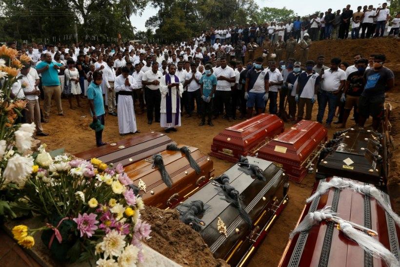 JUBA 359! Sri Lankal kasvab terrorirünnakus hukkunute arv