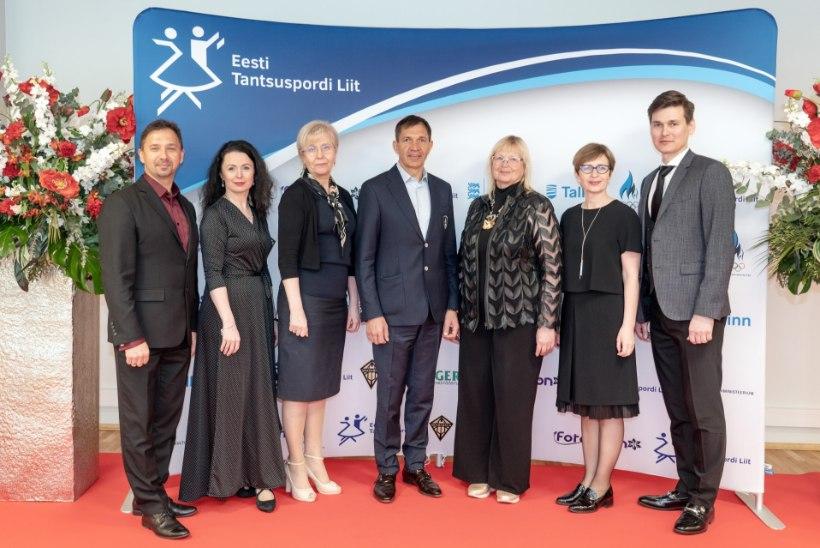 Eesti Tantsuspordi Liit sai kaheksa auliiget