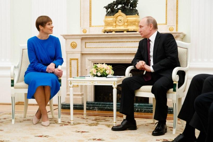 Putini välisnõunik: Vene riigipea kohtumine Eesti presidendiga oli üpris kasulik