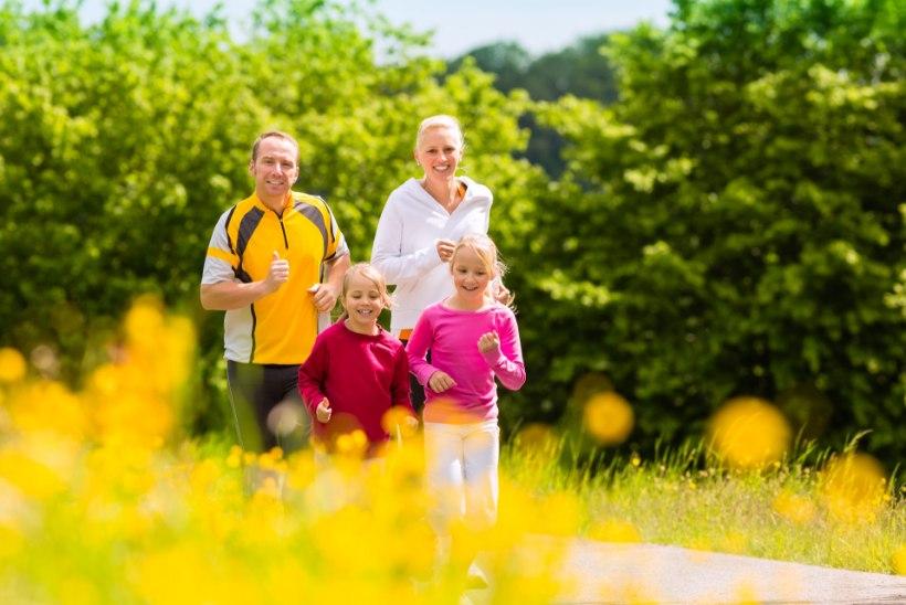 KÕIGILE JÕUKOHANE: harjutused, mida saad teha terve perega koos